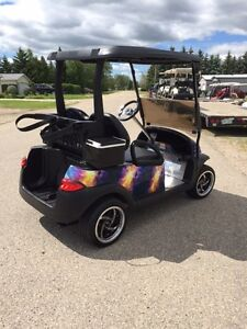 Golf Cart CUSTOM CLUB CAR GAS 2011 Regina Regina Area image 6