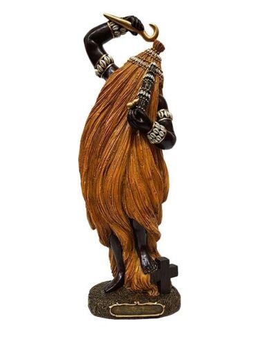 "12"" Orisha Babalu Aye Statue Santeria Lucumi African God Figure"