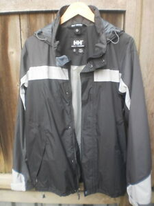 Men's HELLY HANSEN Waterproof/Breathable Jacket - Grey - Size M