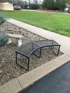 Metal Bench for fire pit or patio