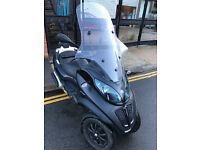 2014 Piaggio MP3 Sport Touring LT 500 in Black great condition not yourban