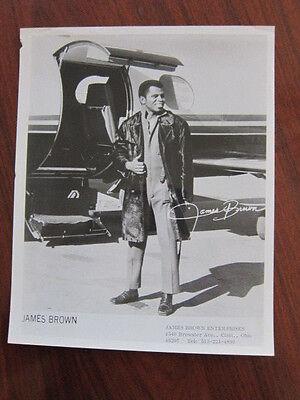 JAMES BROWN  8x10  photo Scotti Bros