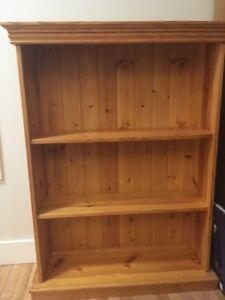 Bookshelves - solid pine