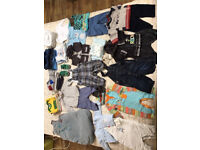 Baby boy clothes - 3-6 months