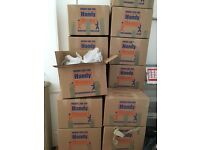 Professional Packing boxes for sale due to house clearance