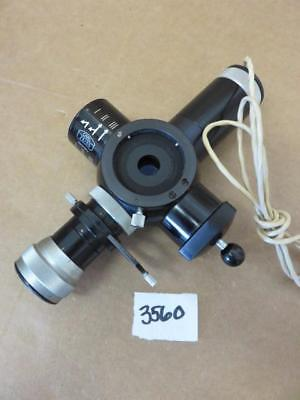 Zeiss Camera Viewfinder Beam Splitter for Microscope, used for sale  Wallkill