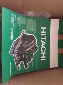 Almost new ( used twice for small DIY job ) Hitachi 235mm circular saw. Powerful bit of kit
