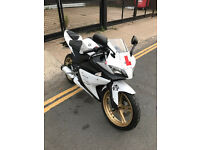 2014 Yamaha YZF R-125 r125 in White great condition