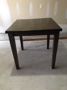 Hand made counter height table
