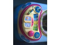 Excellent condition babywalker with musical playboard. As new.