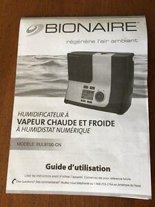 Humidificateur Bionaire TOUT NEUF ! West Island Greater Montréal image 3