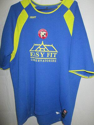 Walsall 2007-2008 Away Football Shirt Size Large /9530 image