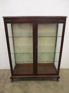 C6007 Lge Vintage Queen Anne China Display Cabinet Unley Unley Area Preview