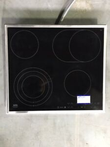"AEG (Electrolux) 24"" 4 Burner Smoothtop Electric Cooktop"