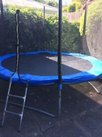 Trampoline with Safety Net Enclosure (8 foot)