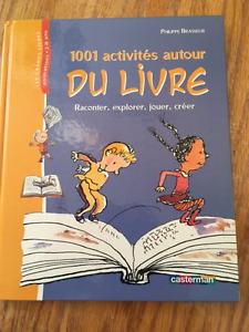 4 livres d'activités neufs