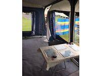 Awaydaze Torino Lux 875 Caravan Awning