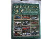 GREAT CARS OF THE 20TH CENTURY HARDBACK WITH DUST JACKET FULL OF QUALITY PHOTOS AND INFORMATION