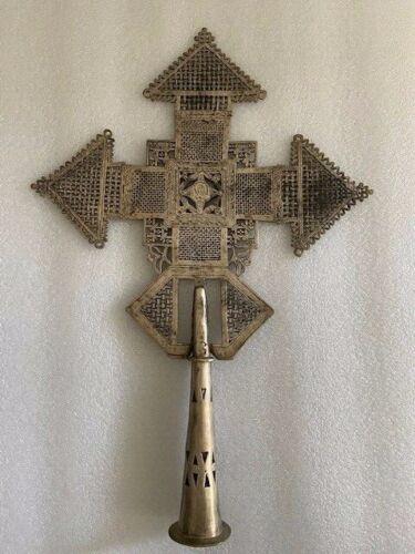 Ethiopian Coptic procession Cross - Ethiopia