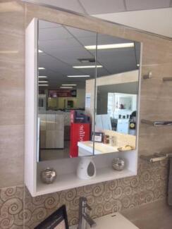 Ex Display Timberline Sanremo 600mm Shaving Cabinet RRP$646