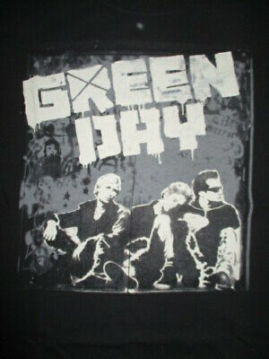 2010 GREEN DAY Concert Tour (XL) T-Shirt BILLY ARMSTRONG