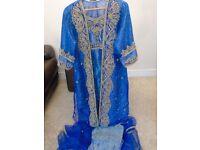 Jamawar wedding dress / Party outfit/ Asian wear