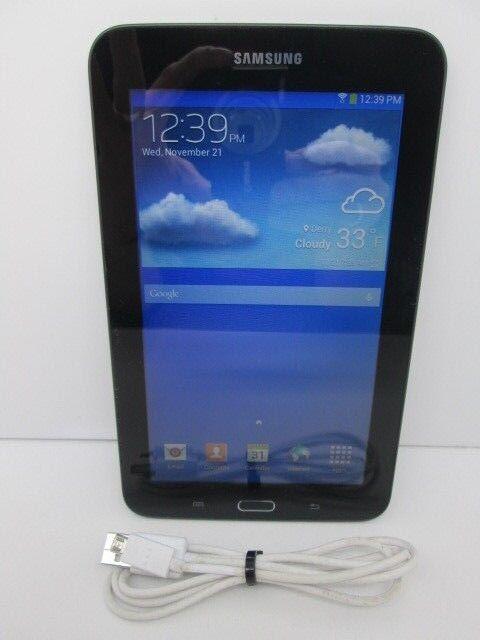 Samsung Galaxy Tab 3 Lite SM-T110 8GB, Wi-Fi, 7in - Dark Gray Tablet