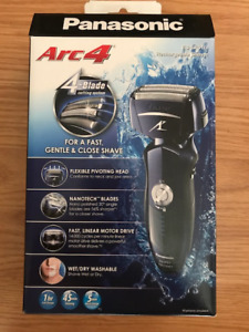 New Panasonic Arc 4 rechargeable shaver