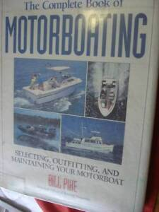 MOTORBOATING COMPLETE BOOK OF c Dianella Stirling Area Preview
