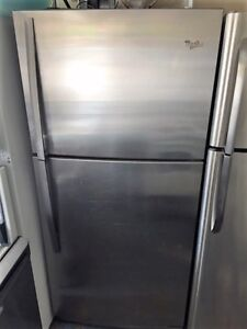 Stainless Steel Fridge Good Condition With Warranty