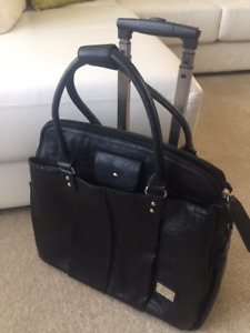 Women's new rolling computer case/ briefcase