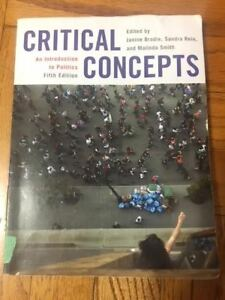 An Introduction to Politics - Critical Concepts Fifth Edition