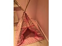Just for Tiny People Teepee - Pink Fairy Rose Fabric