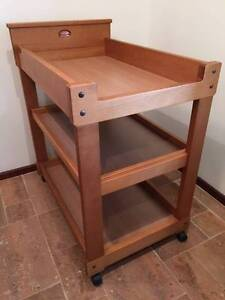 Change table with slide-out shelf - Boori Edgewater Joondalup Area Preview