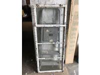 Vintage Metal 4 Panel Opening Window & Frame Critall Window