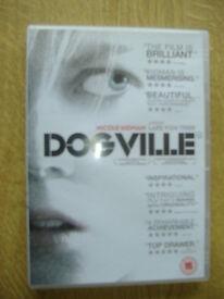 Dogville DVD 2004 With Nicole Kidman
