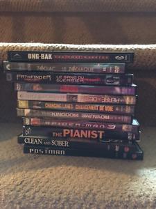 DVDs- less than $2 each