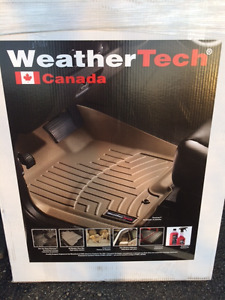 F150 Weathertech floor mats 2015 to 17 Ford crew cab