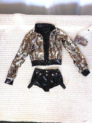 Black & Multi Color Sequin Jazz/Hip Hop/Musical Theatre - Hip Hop Jazz Kostüme