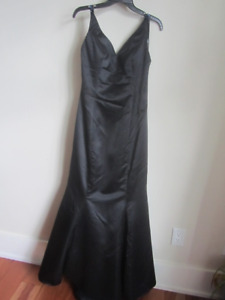 "Gorgeous Black Ladies dress long gown ""Mon Cher Bridals"""