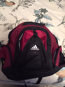 Adidas Burgundy/Black BackPack