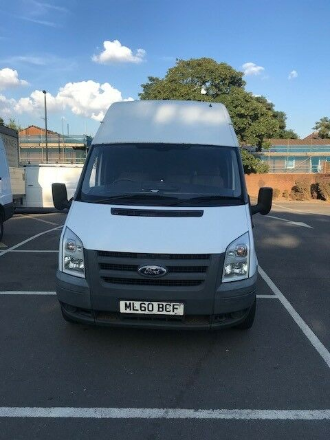 f3698f957f 2010 HIGH ROOF FORD TRANSIT VAN FOR SALE