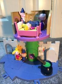 Ben and Holly playset (Castle plus figures)