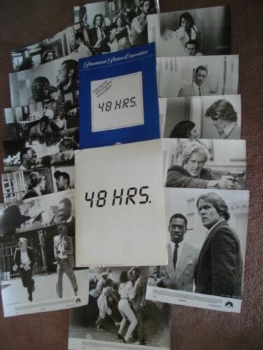 48 HOURS Original 1982 Press Kit w/14 Glossy Stills  Eddie Murphy & Nick Nolte