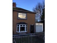 Semi Detached House to Let Dumfries with garden and conservatory. Near town centre