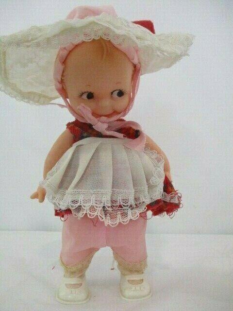 Vintage Kewpie Cameo Doll ~ Marked '18, Signed