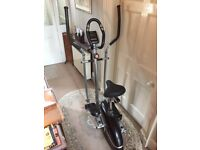V-fit MCCT1 - 2 in 1 combo cycle/elliptical trainer (approx. 1 year old - hardly used)