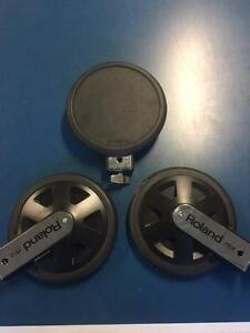 Roland PD8A Dual Trigger Rubber Pads (3 available)