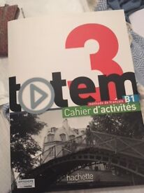 Totem 3 Cahier d'activites French textbook