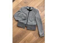 Black/white jacket 6-8 UK size